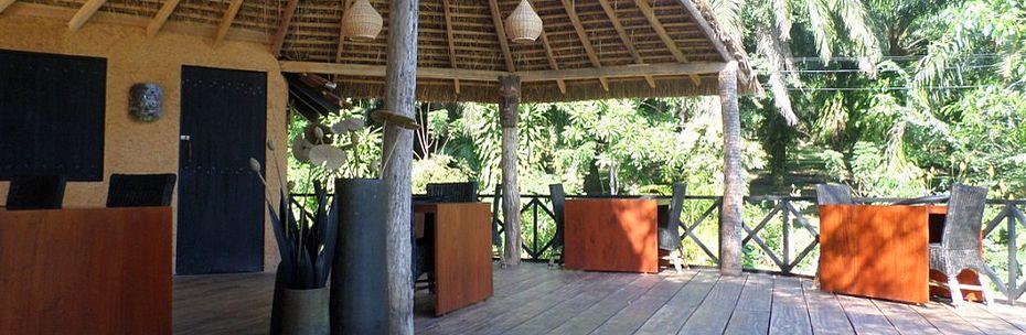 Restaurant Lounge Bar Huma Terra Green Eco lodge